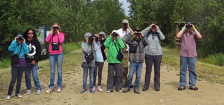 Banding Lab Tour | Enviroquest Camp